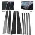 Защитное покрытие для окон автомобиля  8 шт.  для BMW X5 X5M E70 2008 2009 2010 2011 2012 2013  углеродное волокно