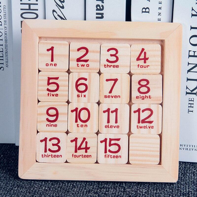 Игра фанатов диск молодых студентов головоломки с числами Математика детей умной игрушка проскальзывание имеет 16 зерна 10-30 юаней