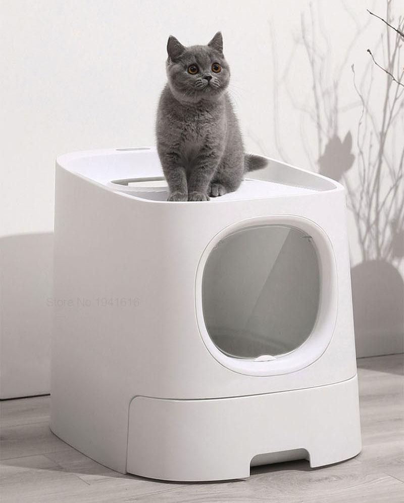 Youpin homerun gato caixa de areia totalmente