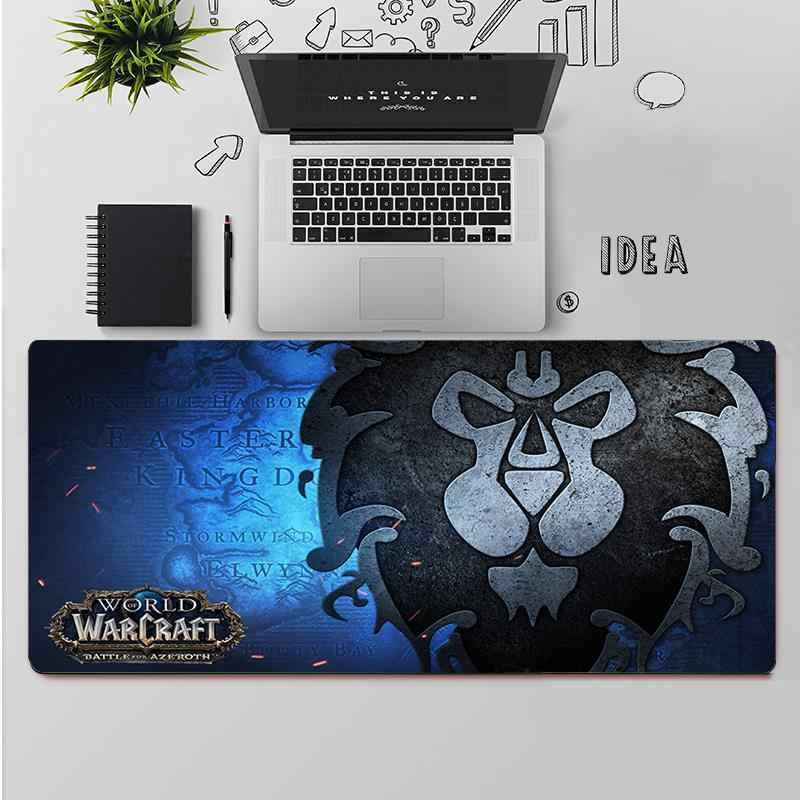 Maiya World of Warcraft podkładki pod mysz komputerowa podkładka pod mysz do laptopa z motywem Anime darmowa wysyłka duża podkładka pod mysz klawiatury Mat