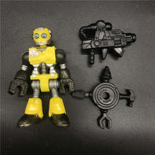 Imaginext Blind Bag Series 1 - Yellow Robot Bumblebees Figure model toy