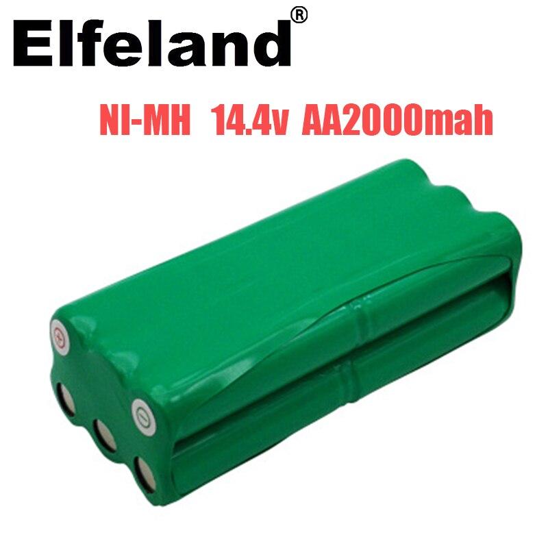 Elfeland 14,4 v AA, 2000mah, Nimh batterie für Papago S30C, intelligente anwärter roboter VONE T285D
