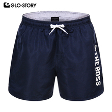 GLO-STORY 2020 New Summer Board Short Men Sporting Beach Shorts Casual Fashion Short Pants