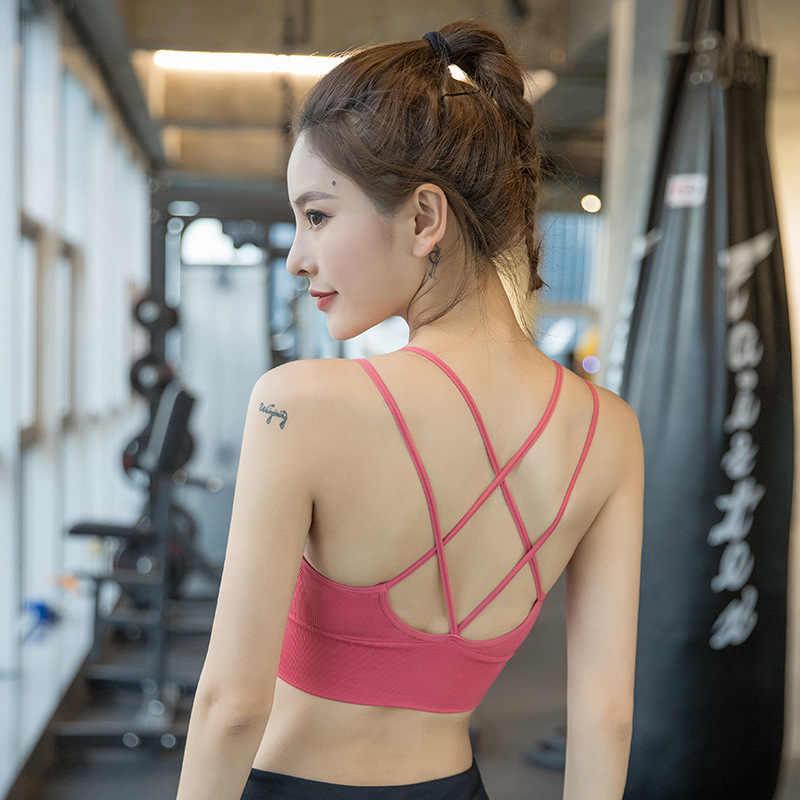 NORMOV; женские босоножки с ремешками короткий топ для фитнеса, женский купальник с открытой спиной спортивный бюстгальтер для ношения при активном образе жизни Для женщин бюстгальтер нижнее белье Для женщин спортивный бюстгальтер