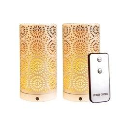 Lampa Led Usb z efektem antycznego płomienia magnesowa podstawka do domu oświetlenie dekoracyjne