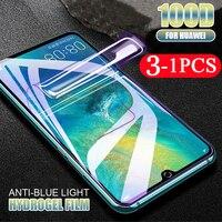 3/2/1Pcs pellicola morbida per idrogel a copertura totale per huawei nova 8 7 pro 6 SE 7i 5 5Z 5i 5T 4 4E 3 3i 3E protezione dello schermo del telefono non in vetro