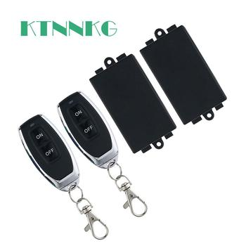 KTNNKG 433MHz Universal AC 110V 220V 1CH Wireless Smart Remote Control Switch Receiver Module and RF Transmitter For  Light DIY rf 315mhz 433mhz 10 receivers 1transmitter 220v 1ch 30a wireless remote control power switch system for home smart control 4372