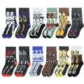 Disney серии хлопковые носки новые хлопковые носки чулки Для мужчин с персонажами из мультфильмов носки с символикой Аниме подарок на день рож...