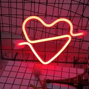 Оригинальная светодиодная неоновая вывеска радужной расцветки, праздничные и вечерние украшения для свадьбы, украшения детской комнаты, д...