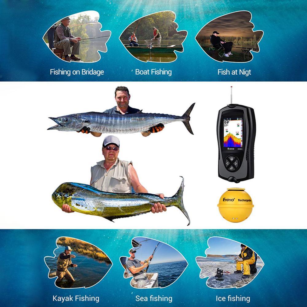 inteligente sem fio inventor de peixes portatil 04