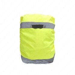 Sprzęt kempingowy plecak osłona przeciwdeszczowa odporna na deszcz odblaskowa  torba na zewnątrz plecak osłony przeciwpyłowe 25 40L nowy! w Zewnętrzne narzędzia od Sport i rozrywka na