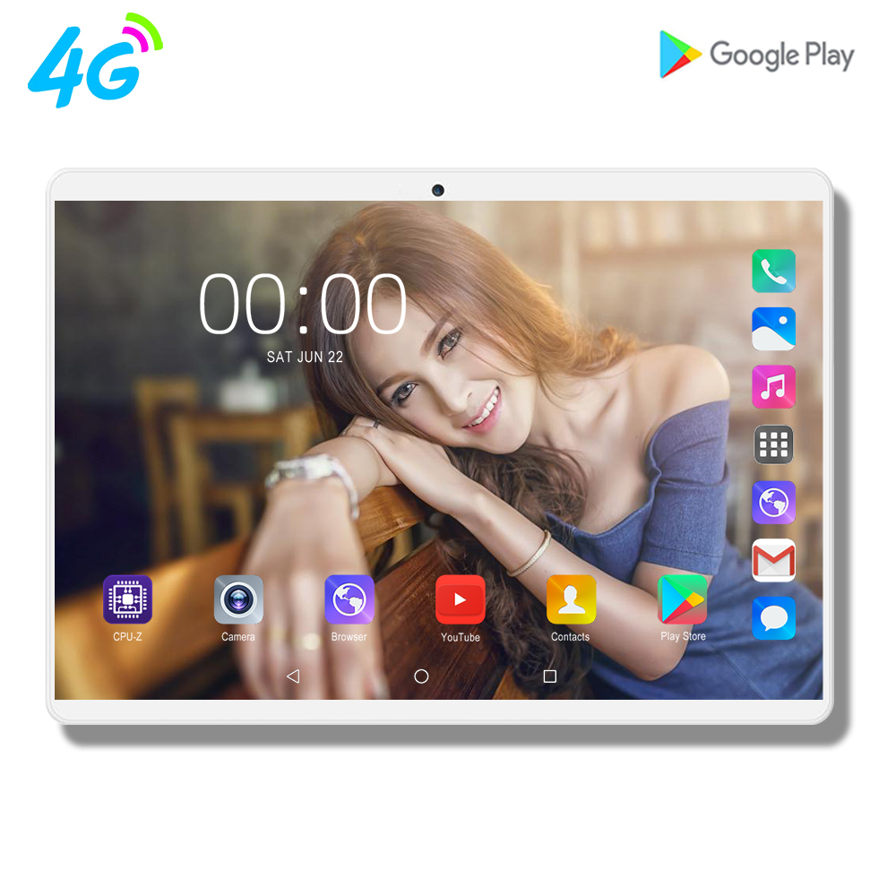 2020 CIGE 1920X1200 tablette 10 Android 9.0 Octa Core 8G + 128GB ROM tablette PC 10.1 pouces sim Google GPS bluetooth téléphone portable 4G