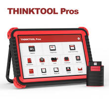 THINKCAR THINKTOOL PROS Car Full System Adas Key Programmable ECU Coding OBD2 TPMS Diagnostic Tool Auto Scanner 28 Resets Active