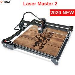 ORTUR лазерный мастер 2 станок для лазерной резки и лазерной гравировки машина с 32-битными материнская плата 7 Вт 15 Вт, 20 Вт, хит продаж Быстрая С...