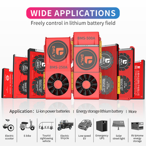 Image 5 - Daly 18650 BMS 4S 12V 15A 20A 30A 40A 50A 60A étanche BMS pour batterie Rechargeable Lifepo4 avec le même Port pour batterie au lithium