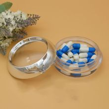 50g Acrylic Container Packing Cosmetics Refillable Bottles Empty Capsule Bottle