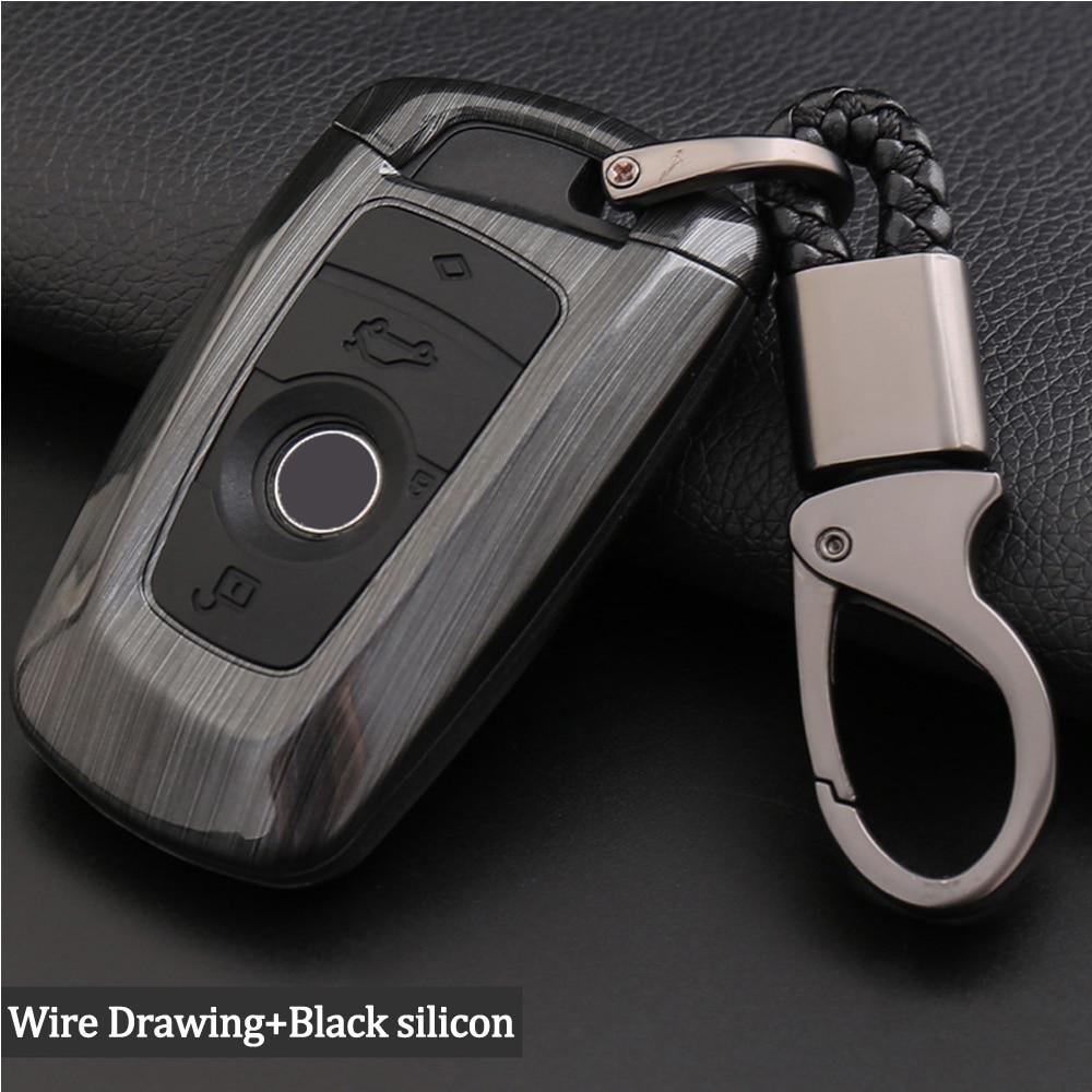 Silicone ABS Car Remote Key Fob Shell Cover Case For BMW 520 525 f30 f10 F18 118i 320i  1 3 4 5 6 7 Series E87 E90 E91 E92 E36