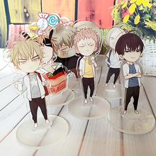 Anime 19 Days Small Display Stand Figure Model Plate Holder Japanese Cartoon Figure Acrylic Collection Jewelry Christmas Gift(China)