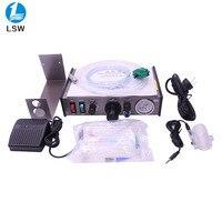 Free shipping 220V AD 982 Semi Auto Glue Dispenser PCB Solder Paste Liquid Controller Dropper Fluid dispenser