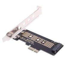 Venda quente nvme pcie x4 x2 m.2 ngff ssd para pcie x1 adaptador de cartão conversor pcie x1 para m.2 nova chegada