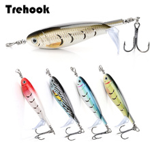 10cm 9g Rotating Wobbler for Fish Artificial Bait Fishing Lures Whopper Plopper Topwater Popper Bass/Pike Lure Crankbaits