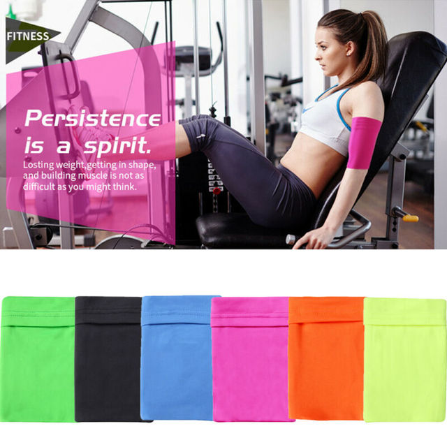 Gym Sports Running Jogging Armband Arm Band Bag Holder Case Cover For Cell Phone Armband 3E26 3