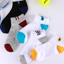 10 Pairs Spring Summer Cotton Socks Boat Mesh Breathable Men