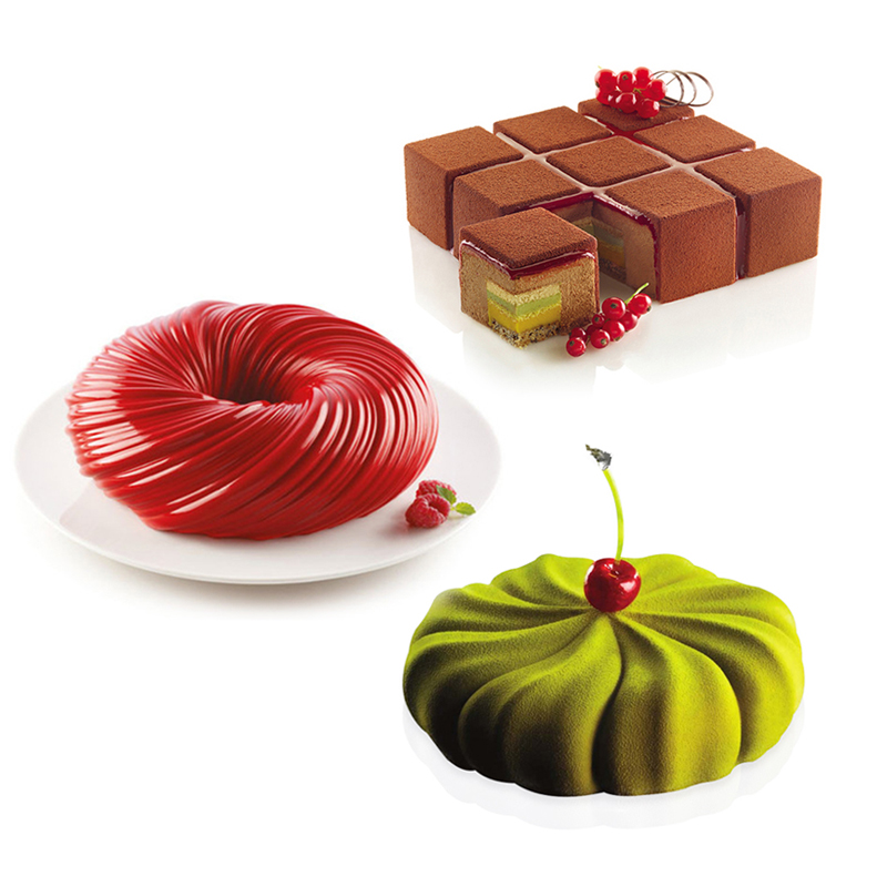 26 Shaped Silicone Cake Mold French Dessert Mousse Baking Form Tray Jelly Pudding Chocolate Moulds Cake Decorating Tool