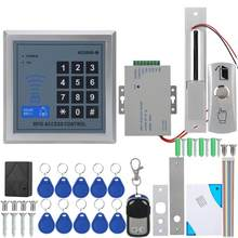 Akses Pintu Masuk Sistem Magnetic Lock Remote Control Bel Power Supply 10 Keyfobs AD-2000M Sistem Akses Kontrol(China)