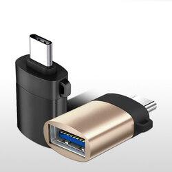 Złącze adaptera type-c na USB 3.0 OTG do Samsung LG Huawei Xiaomi synchronizacja danych telefonu dysk Flash mysz klawiatura Gamepad konwerter