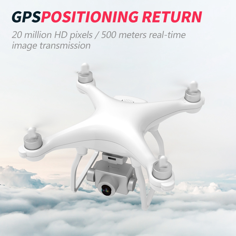 lowest price RC Quadcopter Drone GPS HD Camera WIFI FPV Brushless Motor Foldable Selfie Drones Professional 1000M Long Distance
