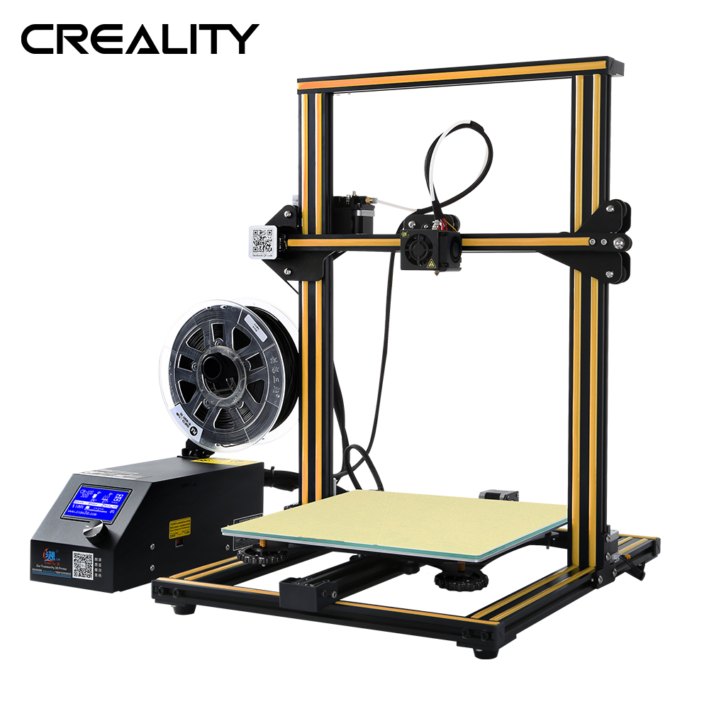 Full Metal Plus size 400 400 40MM Creality 3D Printer CR 10 S4 With Dua Z