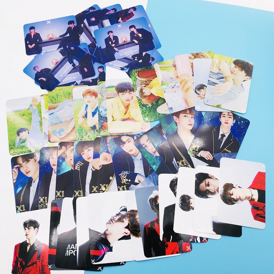 Kpop X One Quantum Leap Paper Photocard Hyeongjun Minhee Album Concert Photo Card Collective Cards