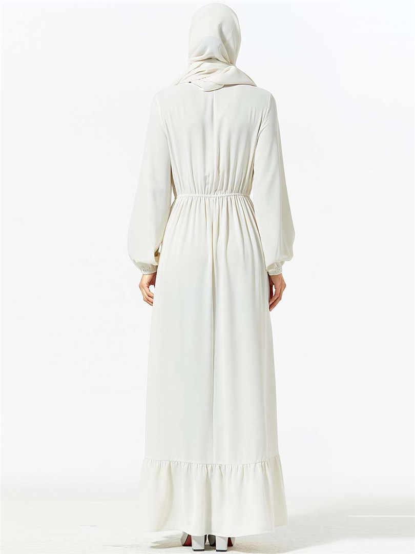 אלגנטי מקסי שמלת מוסלמי רקמה העבאיה חיג 'אב ארוך גלימות Vestidos קימונו מזרח התיכון עיד הרמדאן ערבי האסלאמי קפטן Baju