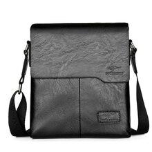 Promoção famosa marca de moda vintage homem couro mensageiro saco masculino crossbody ombro sacos de negócios para homem