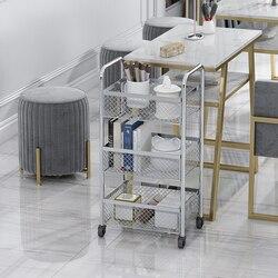 Schoonheidssalon Trolley Multi-Functionele Huid Management Tattoo Kapsalon Winkel Mobiele Tool Winkelwagen Plank