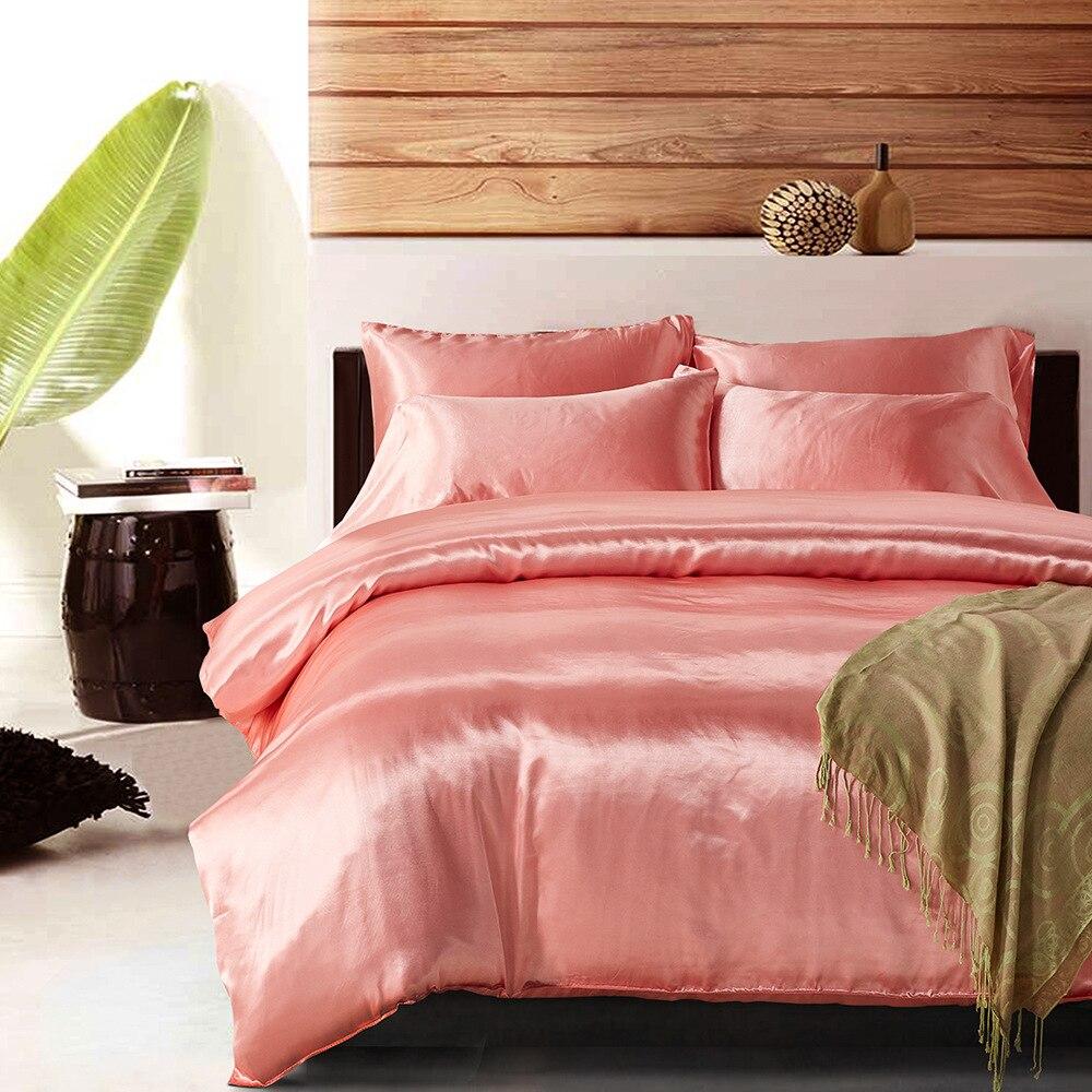 Имитация шелковой ткани, искусственный шелк, три комплекта пододеяльника, Комплект постельного белья, домашний текстиль, Краткое Мужское