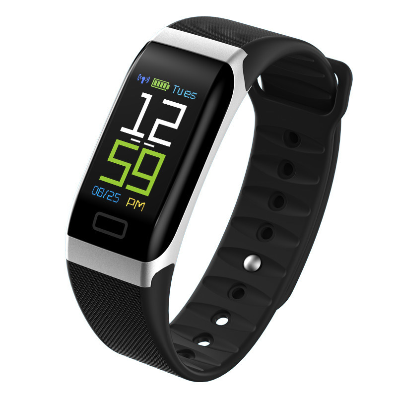 <font><b>R7</b></font> <font><b>Smart</b></font> Bracelet Wrist Band <font><b>Watch</b></font> Fitness Tracker Heart Rate Health Monitor USB Charging Blood Pressure Battery Wristband Eh# image