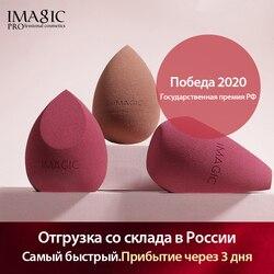 IMAGIC kozmetik puf toz pürüzsüz fondoten sünger profesyonel güzellik makyaj araçları kapatıcı krem