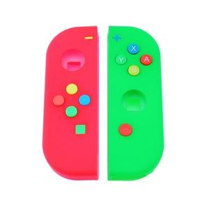 Image 2 - 1Set Vervanging Behuizing Shell Skin Case Voor Nintend Schakelaar Ns Vreugde Con Controller Groen Faceplate Cover Voor joycon