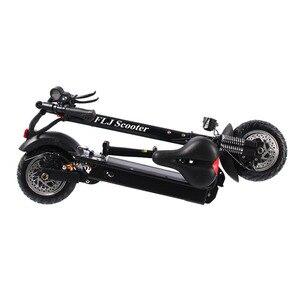 Image 3 - Flj 2400w adulto scooter elétrico com assento dobrável hoverboard pneu gordura kick scooter elétrico e scooter
