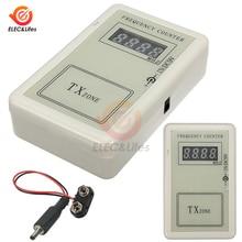 Ручной пульт дистанционного управления беспроводной точный измеритель частоты с ЖК-дисплеем тестер 250-450 МГц для автомобиля авто ключ дистанционное управление детектор кабель питания