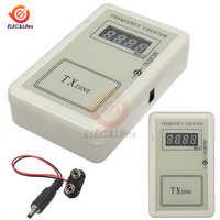 Control remoto de mano medidor de frecuencia inalámbrico probador 250-450MHZ para coche Auto llave Control remoto Detector de potencia cable
