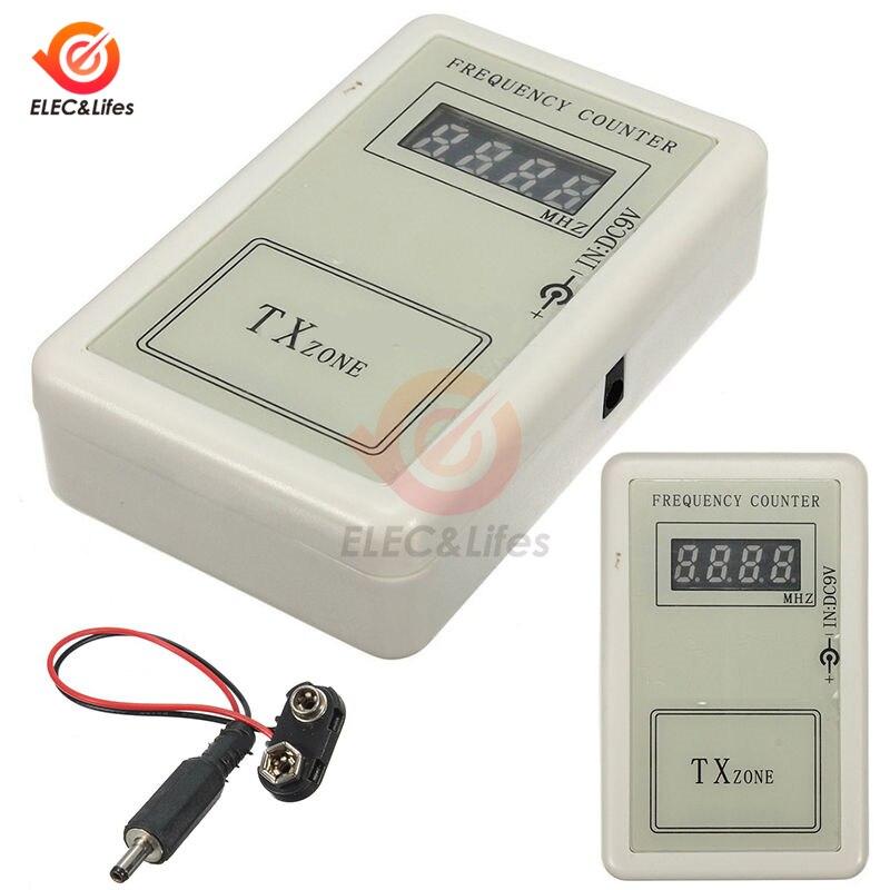 Ручной беспроводной счетчик частоты с дистанционным управлением, тестер 250-450 МГц для автомобиля, дистанционный велометр, детектор, кабель п...