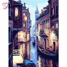 Kit de Broderie Diamant 5D Pour Adultes, Artisanat, Peinture de Nuit, Mosaïque, bricolage, Cadeau, Art mural