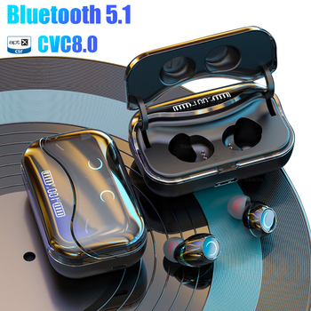 Bluetooth 5.1 headphone Touch Control Wireless Earphone HiFi Noise Waterproof Headset Sports Gaming Auriculares with LED Display bluetooth headphones wireless headphone earbuds sports bass gaming earphone with microphone for phone auriculares noise canceli
