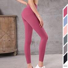 New 2019 High Waist Gym Seamless Leggings Push Up Leggins Sport Women Fitness Yoga Pants Girl Colorvalue