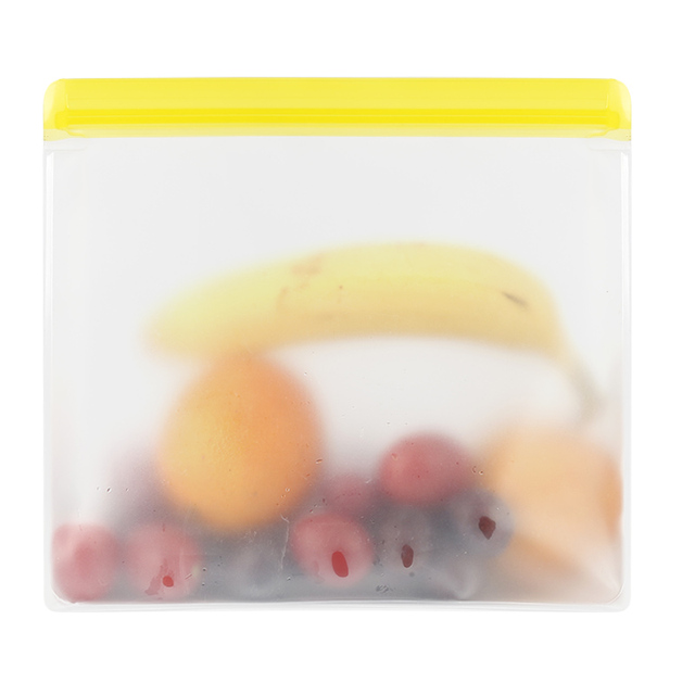 Food Storage PEVA Containers Set Stand Up Fresh Bags Zip Silicone Reusable Lunch Fruit Leakproof Cup Freezer Vegetable Cup Bowl 3