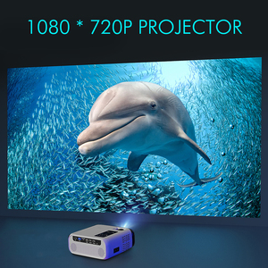Image 2 - New UNIC E500 150 Inch 1280x720P 6000 Lumens LCD Projector 1080P Full HD HDMI WIFI Home Theater Android Proyector LED PK CP600