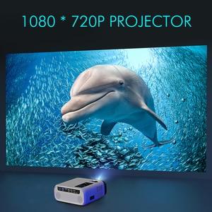 Image 2 - UNIC Proyector E500 para cine en casa, LED de 150 pulgadas, 1280x720P, 6000 lúmenes, Full HD, con HDMI, wi fi, PK CP600, para Android